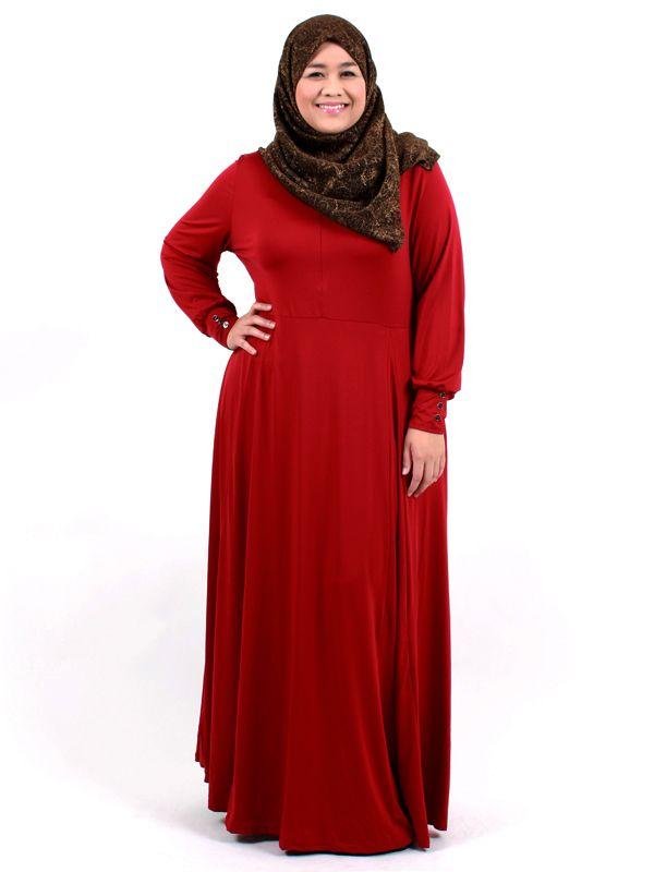 hijab fashion for plus size