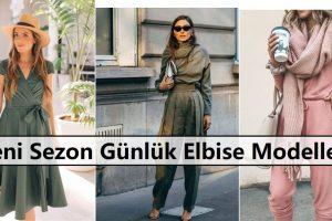 Yeni Sezon Günlük Elbise Modelleri