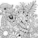 zentangle papağan