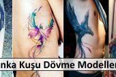 Anka Kuşu Dövme Modelleri