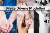 Bileğe Dövme Modelleri