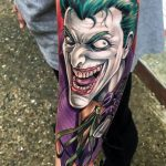 Bilek Joker Dövme Modeli