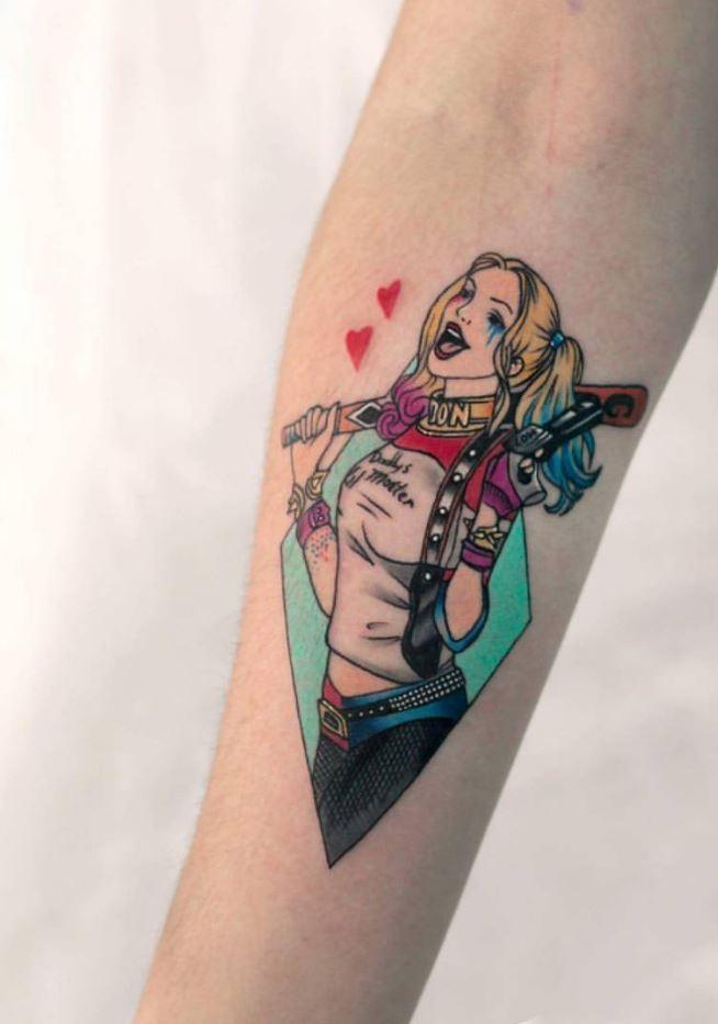 Harley Quinn Dövmeleri