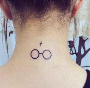 Harry Potter Temalı Ense Dövmesi