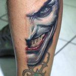 Joker Bacak Dövme