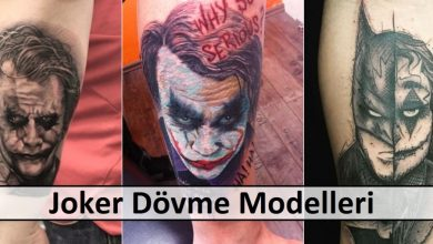 Joker Dövme Modelleri
