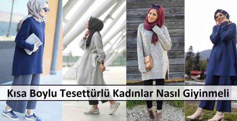 Kısa Boylu Tesettürlü Kadınlar Nasıl Giyinmeli