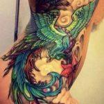 Komple Vücut Anka Kuşu Dövme