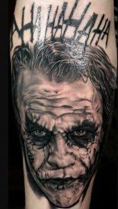 Korkunç Joker Dövmesi