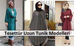 Tesettür Uzun Tunik Modelleri