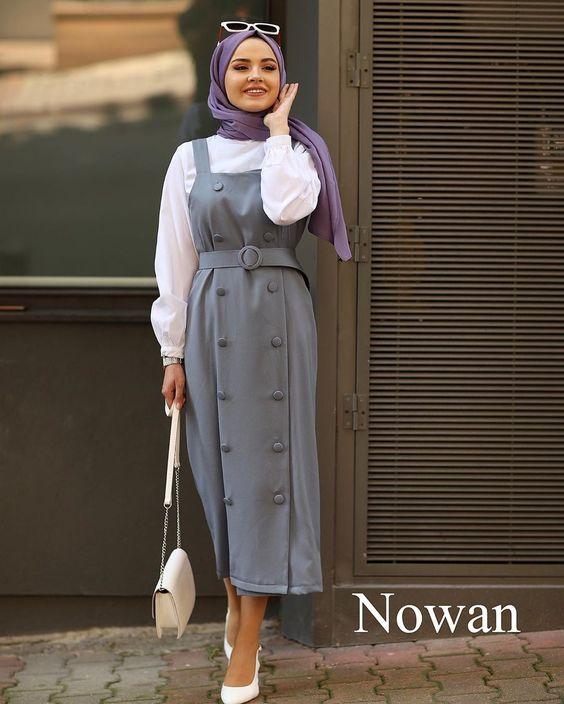 Tesettüre Uygun Kışlık Elbise Seçimi