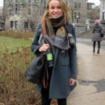 Üniversiteli Kışlık Kaban Kombin