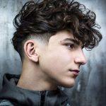 Amerikan Dalgalı Erkek Saç Modeli
