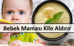Bebek Maması Kilo Aldırır Mı
