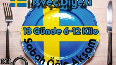 İsveç Diyeti Kaç Kilo Verdirir
