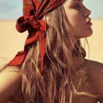 Plaj Saç Bandı Bağlama Modeli
