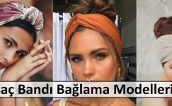 Saç Bandı Bağlama Modelleri