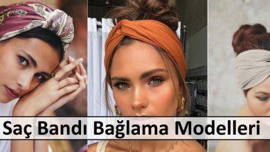 Saç Bandı Bağlama Modelleri ana