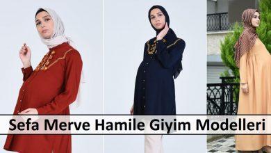 Sefa Merve Hamile Giyim Modelleri