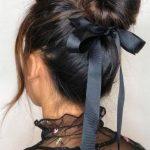 Siyah Saç Bandı Modeli