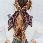 Toka Şeklinde Saç Bandı