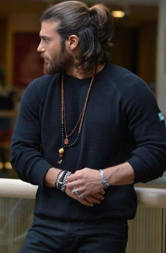 Uzun Erkek Saç Stilleri
