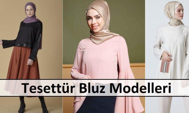 Tesettür Bluz Modelleri