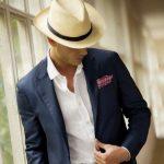 şapka takım elbise kombin