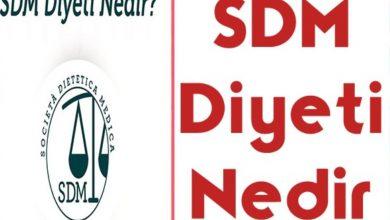 sdm diyeti nedir ve nasıl yapılır