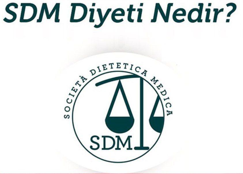 sdm diyeti nedir