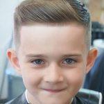 İngiliz Erkek Çocuk Saç Kesimi