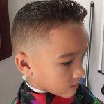 Kısa Erkek Çocuk Saç Stili