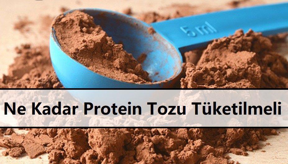 Ne Kadar Protein Tozu Tüketilmeli