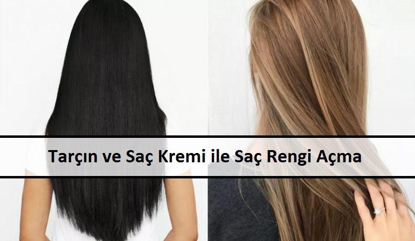 Tarçın ve Saç Kremi ile Saç Rengi Açma
