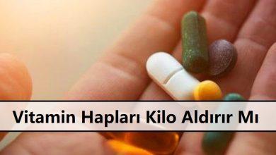 Vitamin Hapları Kilo Aldırır Mı