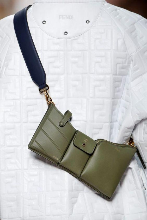 haki yeşil bayan çanta modelleri