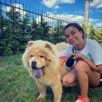 Esila Biltekin ve Köpeği
