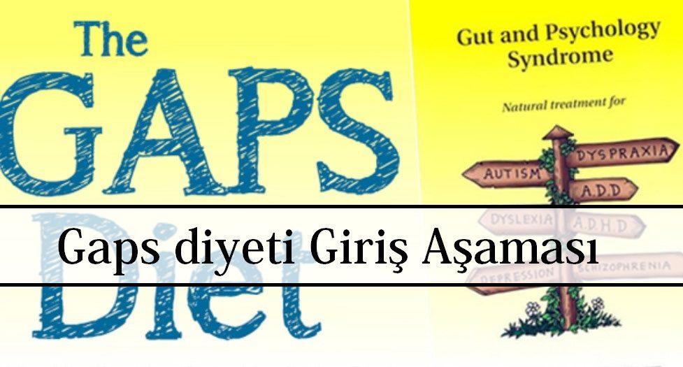 Gaps diyeti Giriş Aşaması