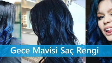 Gece Mavisi Saç Rengi ana