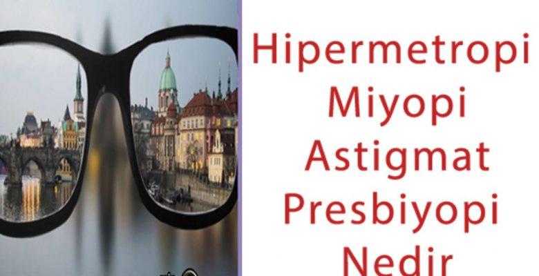 Hipermetropi, Miyopi Nedir | Belirtileri Nelerdir