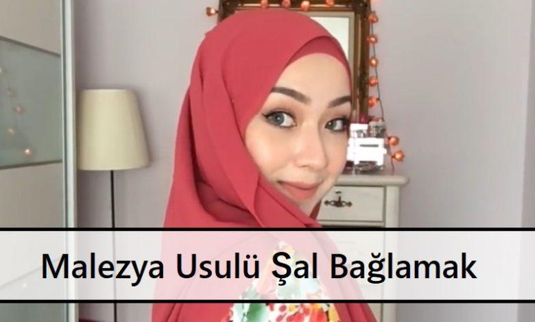 Malezya Usulü Şal Bağlamak