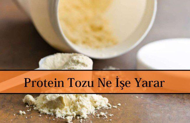 Protein Tozu Ne İşe Yarar