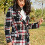 Astarlı Kadın Blazer Ceket