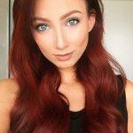 Boya Aşk Alevi Saç Rengi