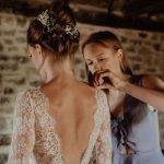 Çiçek Kır Düğünü Gelin Modeli