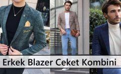 Erkek Blazer Ceket Kombini