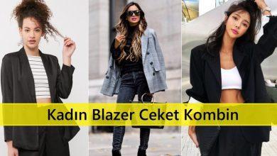 İnce Siyah Kadın Blazer Ceket