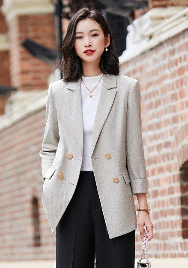 İş Kadını Blazer Ceket
