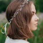Kır Düğünü Saç Taçlı Model
