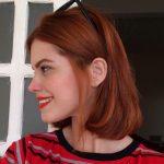 Kısa Aşk Alevi Saç Stili